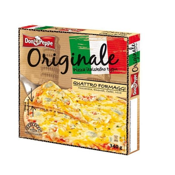 Don Peppe Pizza Originale Quattro Formaggi mraz. 340g
