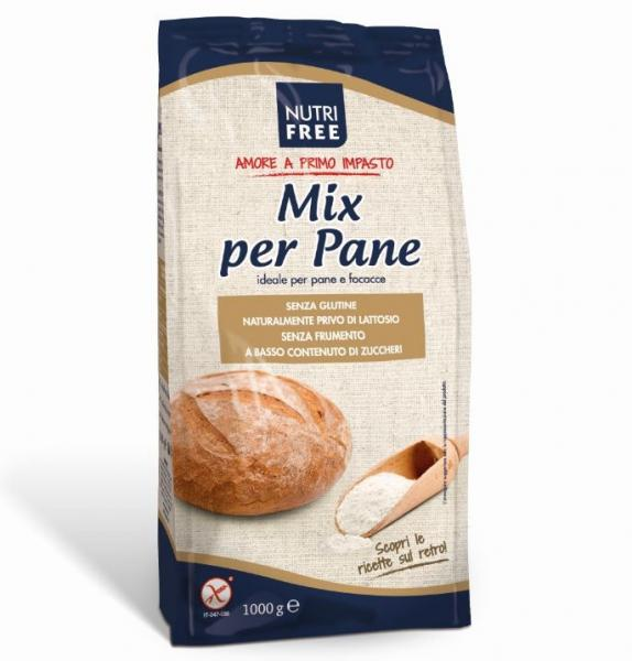 Zmes na chlieb 1kg Nutri Free Per Pane