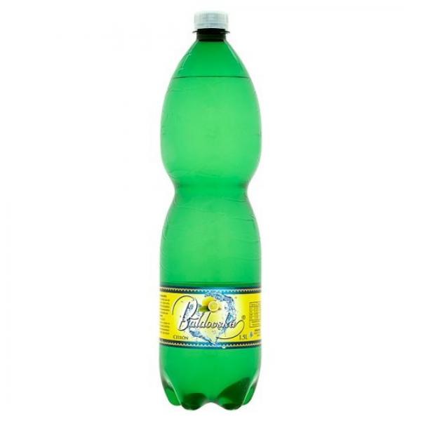 Baldovská sýtená minerálna voda citrón 1,5 l