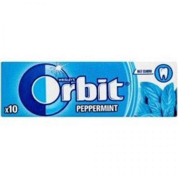 Orbit Peppermint 14g