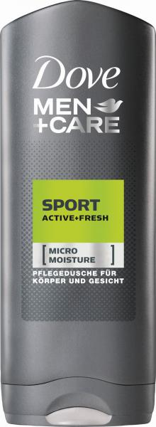 Dove Men Active Fresh sprchový gél 250 ml