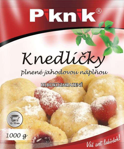 Knedlíčky jahodové 1kg Piknik
