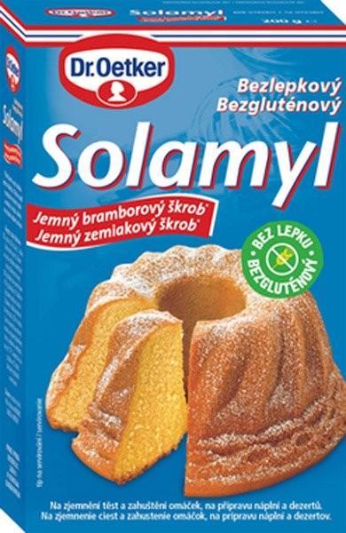 Solamyl škrob zemiakový jemný 200g Dr. Oetker