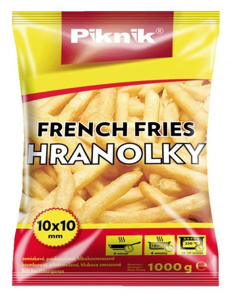 Hranolky zemiakové 1kg Piknik