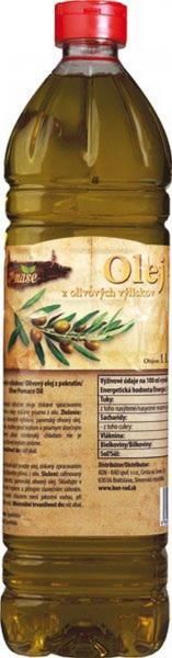 Olej z olivových výliskov 1l Naše