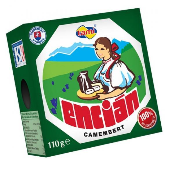 Encián 45% chladený 110g Tami