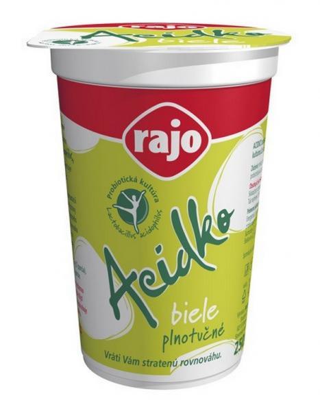 Acidko - mlieko acidofilné biele 3,6% 250g