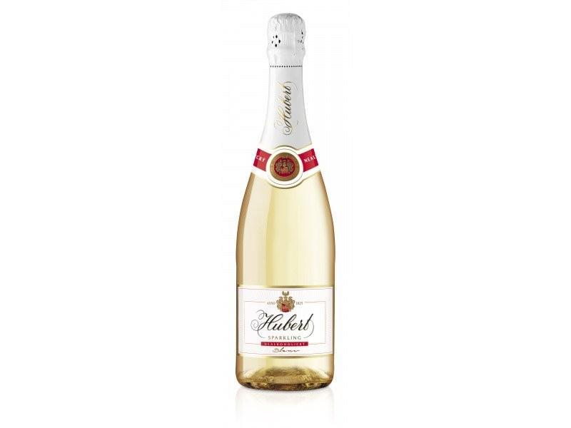 Nealkoholické šumivé víno Hubert 0,75l