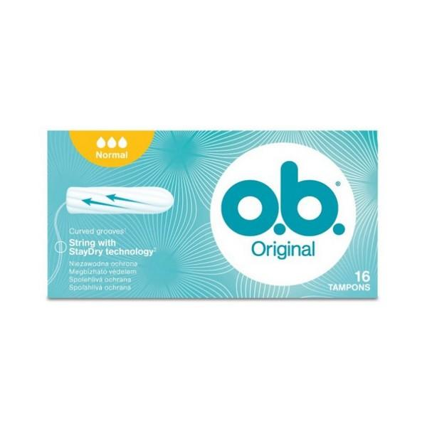 OB Originál Tampóny Normal 16 ks