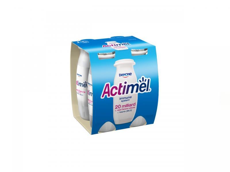 Danone Actimel nápoj prírodný chlad. 4x100 ml