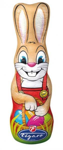 Figaro Zajac veľkonočný mliečna čokoláda 1x40 g