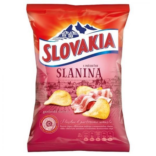 Slovakia Chips S príchuťou slanina 70 g