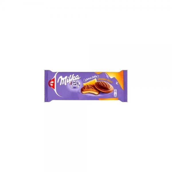 Milka Choco Jaffa piškóty pomarančové, mliečna čokoláda 147 g