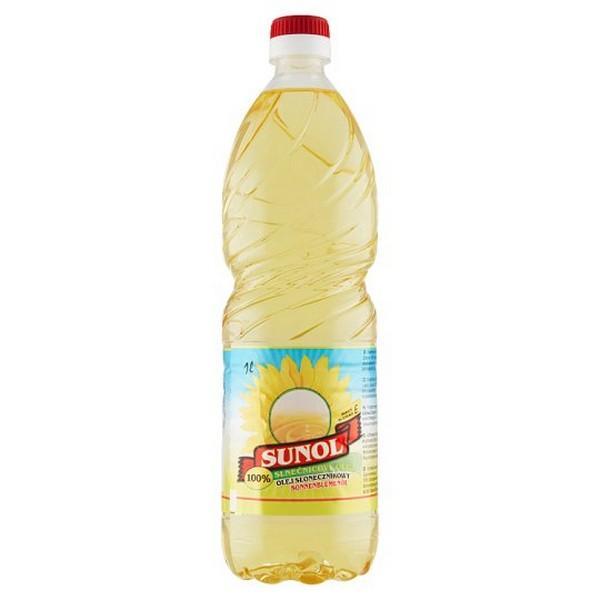 Sunol  slnečnicový olej 1l