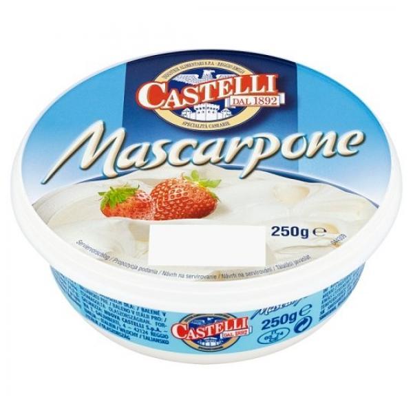 Mascarpone Castelli 250g