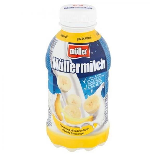 Müller Mliečny nápoj s banánovou príchuťou 400 g