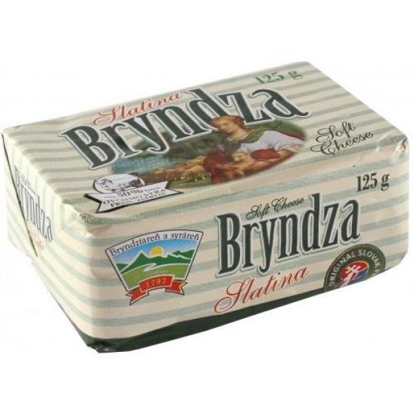 Bryndza plnotučná 125g Slatina