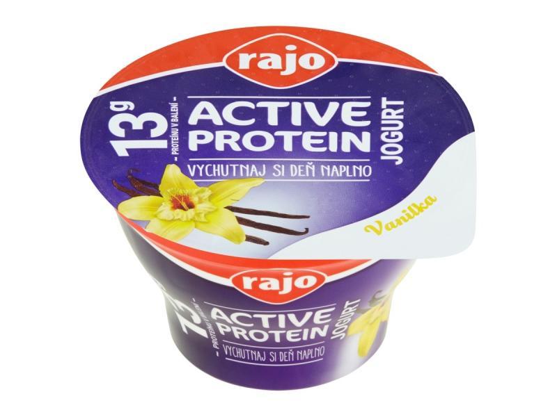 Active Protein Jogurt vanilka 180g Rajo