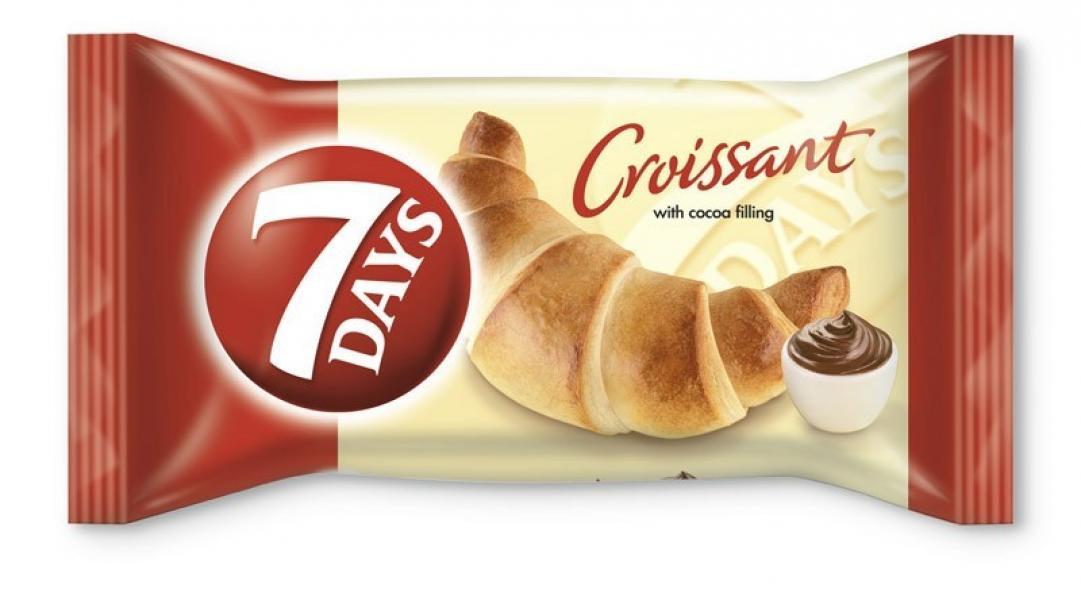 Croissant kakaový 60g 7 DAYS