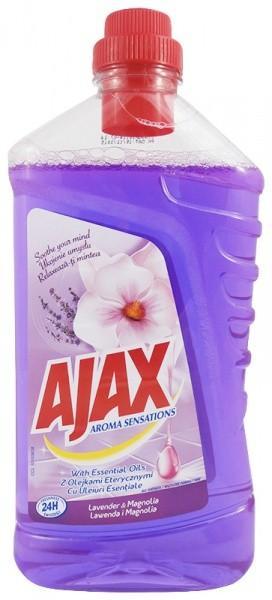 Ajax Aróma Sensations Lavender & Magnolia univerzálny čistiaci prostriedok 1 l