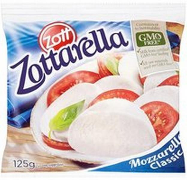 Mozzarella Zott 125g
