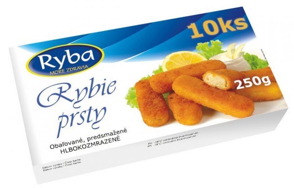 Rybie prsty 250 g mraz. Ryba Košice