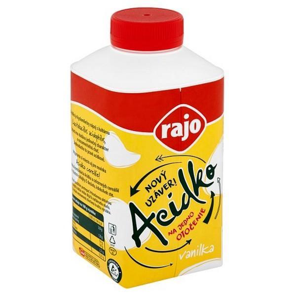 Acidko Rajo vanilka 450g