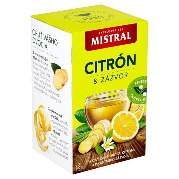 Mistral ovocný čaj 40g  Citrón a zázvor