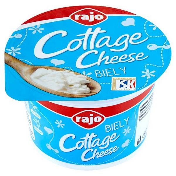 Cottage Cheese Rajo biely 180g