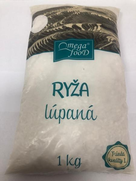 Ryža guľatozrnná 1kg Omega