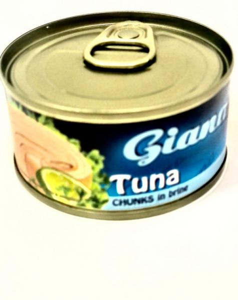 Tuniak vo vlastnej šťave 80g Giana