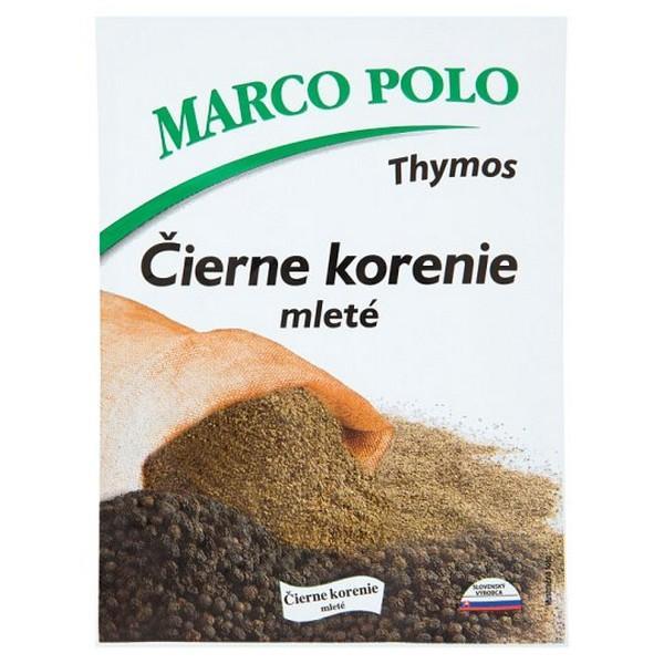 Mleté čierne korenie Marco Polo 20g