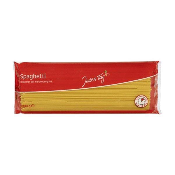 Špagety semolínové 500g Jeden Tag