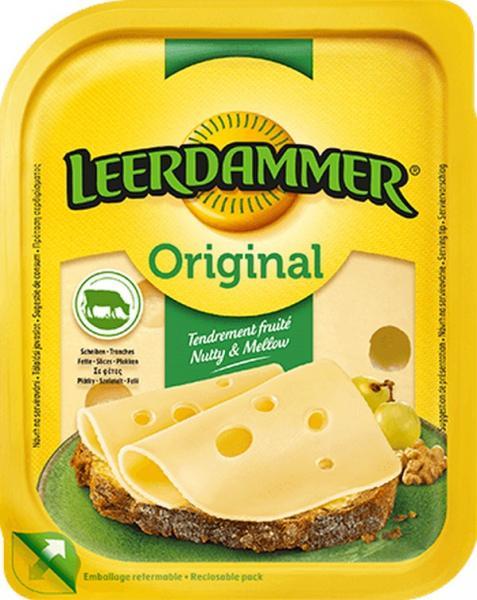 Leerdammer plátky originál 100g