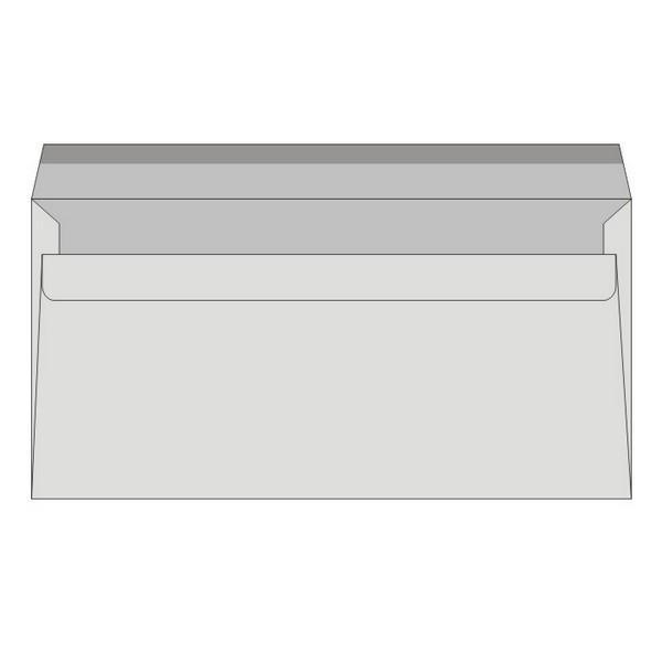 Obálky samolepiace, 110 x 220 mm  25 ks