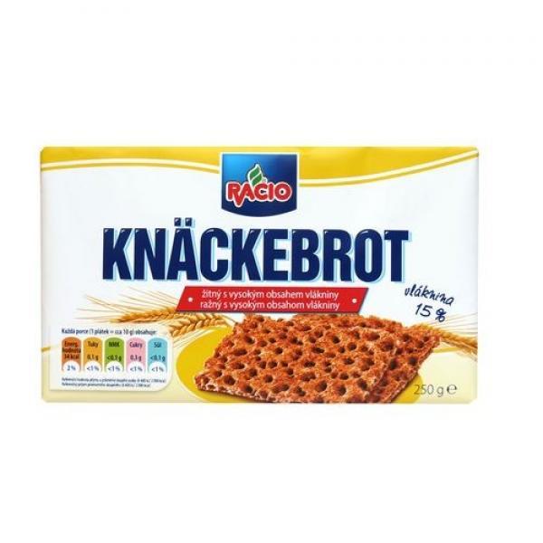 Racio Knäckebrot ražný s vlákninou 1x250 g