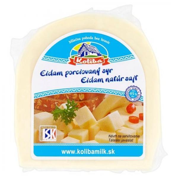 Koliba Eidam porciovaný syr 200g