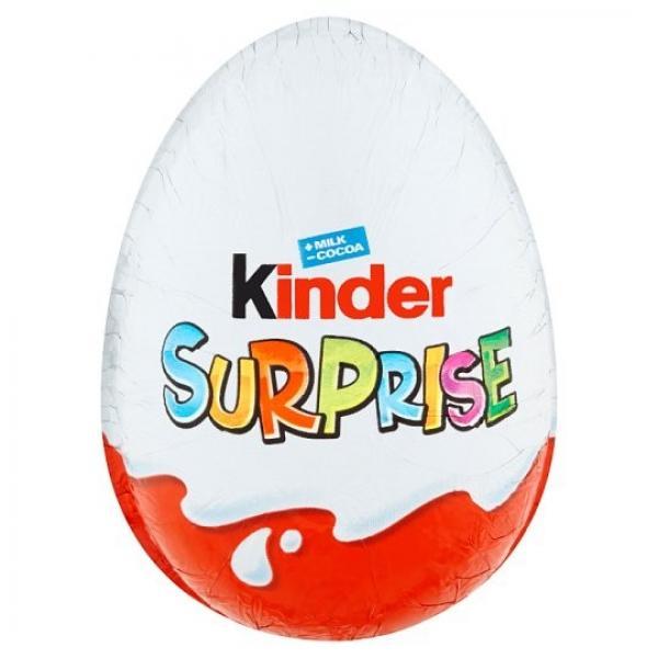 Kinder Surprise čokoládové vajíčko 20g