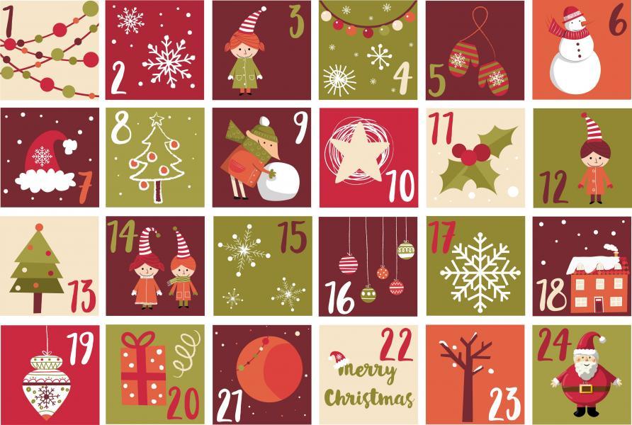 Chocoland Adventný kalendár 50g