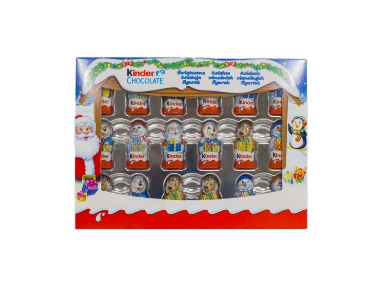 Kinder Chocolate Vianočné figúrky 153g