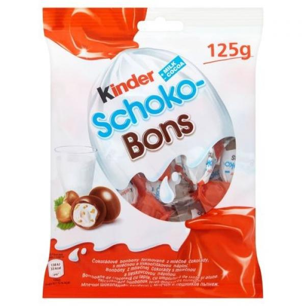 Kinder shoco bons 125g